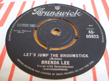 BRENDA LEE - Let's Jump The Broomstick