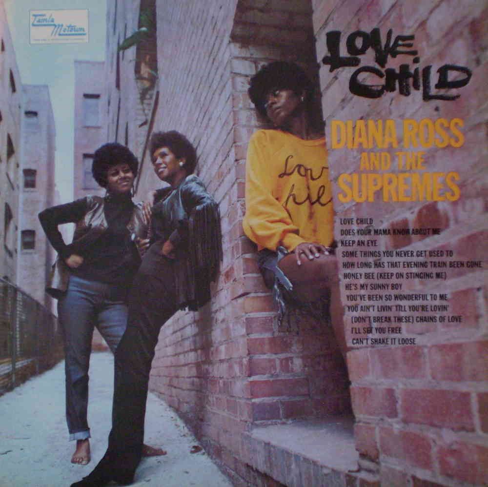 fbfb6b57aa9b Diana Ross & The Supremes - Love Child - www.timetravelrecords.co.uk