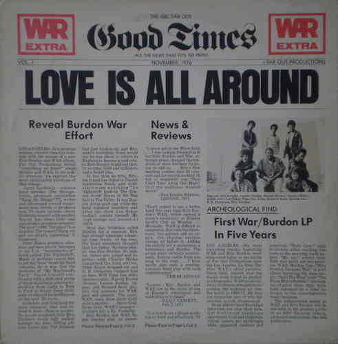 War - Love Is All Around