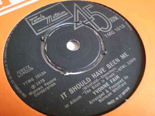 Yvonne Fair - It Should Have Been Me