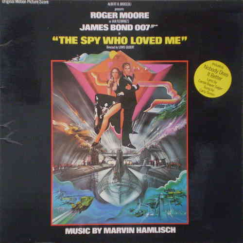 Marvin Hamlisch - The Spy Who Loved Me Original Motion Picture Score