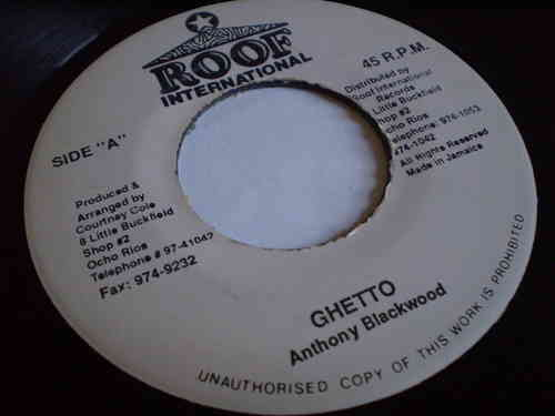 Anthony Blackwood - Ghetto