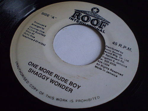 Shaggy Wonder - One More Rude Boy