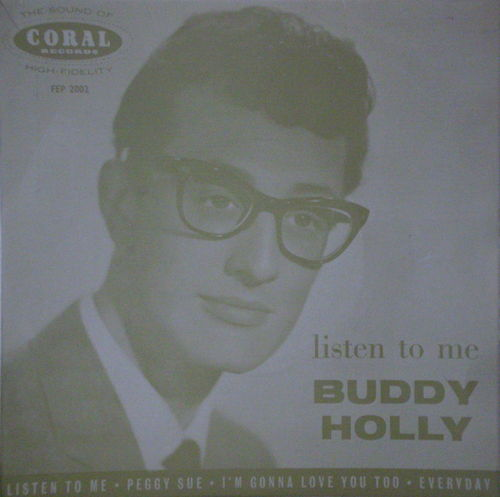 Buddy Holly - Listen to Me (EP)