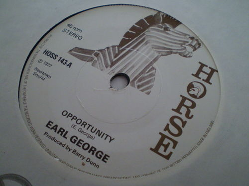 Earl George - Opportunity