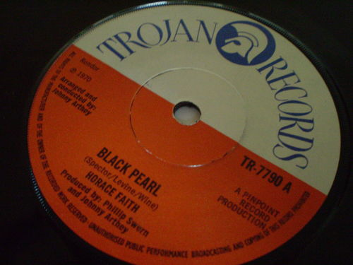 Horace Faith - Black Pearl