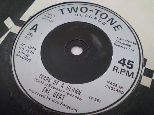 The Beat - Tears of a Clown / Ranking Full Stop