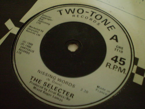 The Selecter - Missing Words