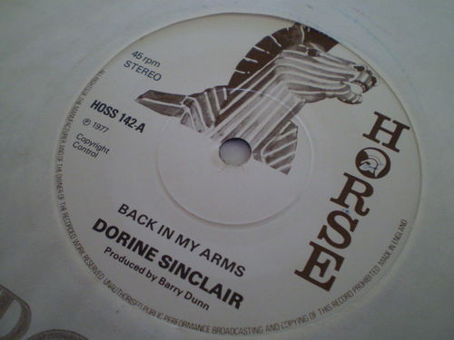 Dorrine Sinclair - Back in My Arms
