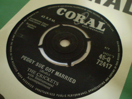The Crickets - Peggy Sue Got Married