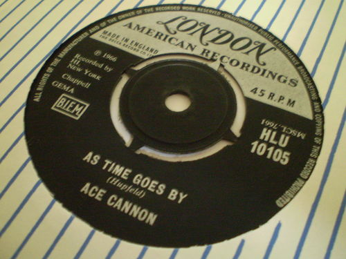 Ace Cannon - As Time Goes By