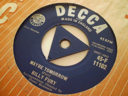 Billy Fury - Maybe Tomorrow