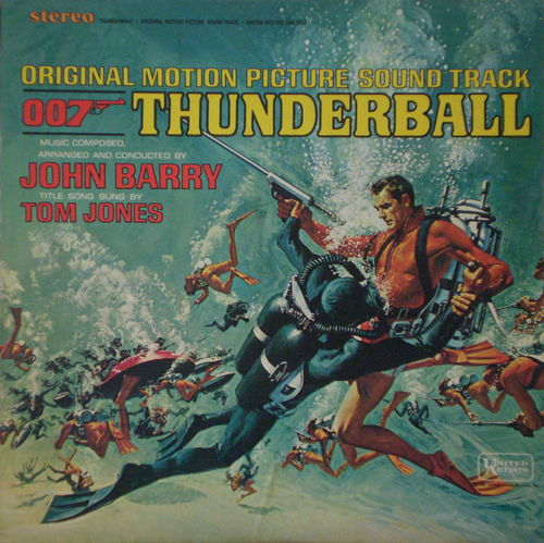 John Barry - Thunderball (Original Motion Picture Sound Track)