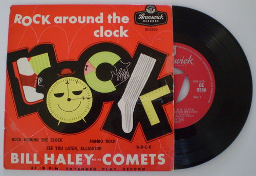 Bill Haley and his Comets - Rock Around the Clock (EP)