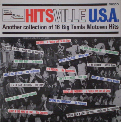 Various Artists - Hitsville U.S.A. (Another Collection of 16 Big Tamla Motown Hits)