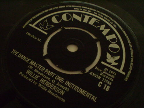 Willie Henderson - The Dance Master Part One: Instrumental