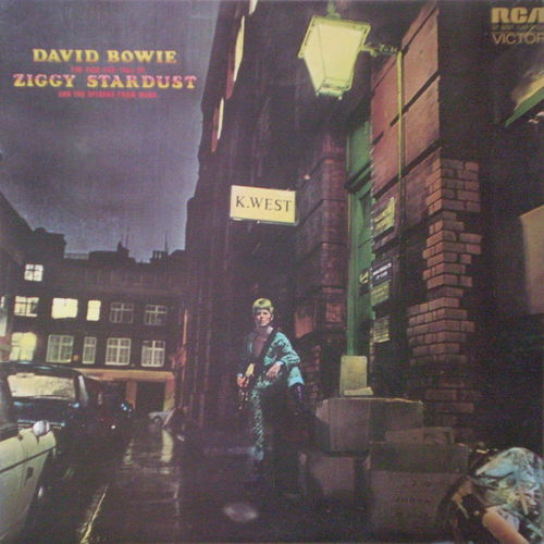 David Bowie - The Rise and Fall of Ziggy Stardust and the Spiders of Mars