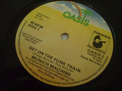 Munich Machine - Get On the Funk Train