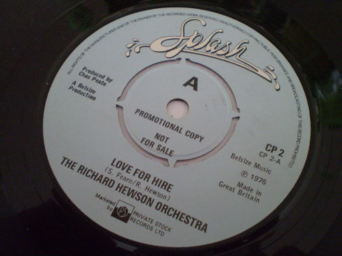 The Richard Hewson Orchestra - Love For Hire